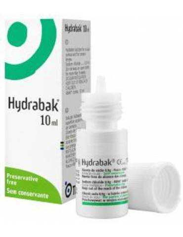Hydrabak Soluzione idratante dell'occhio 10ml LABORATOIRES THEA902010848 LABORATOIRES THEA
