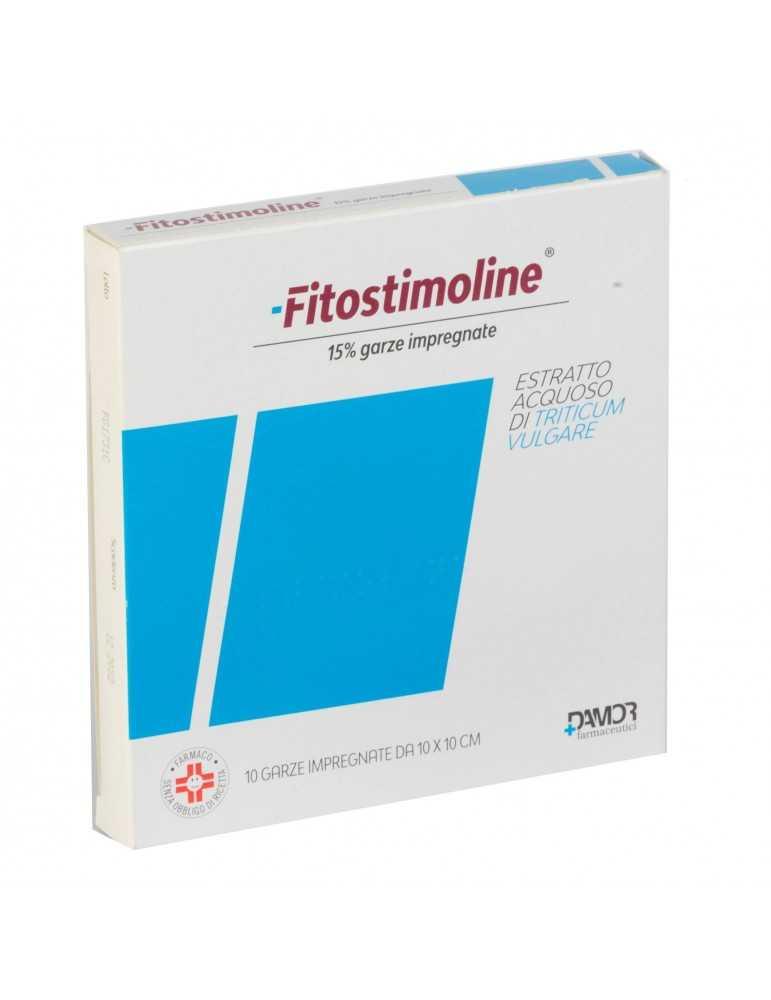 FITOSTIMOLINE 10GARZE IMPREGNATE 15% 009115039