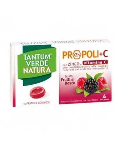 Tantum Verde Natura Integratore Gusto Frutti Di Bosco 15 Pastiglie Gommose 973712247