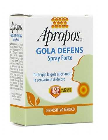 Apropos Gola Defens Spray...