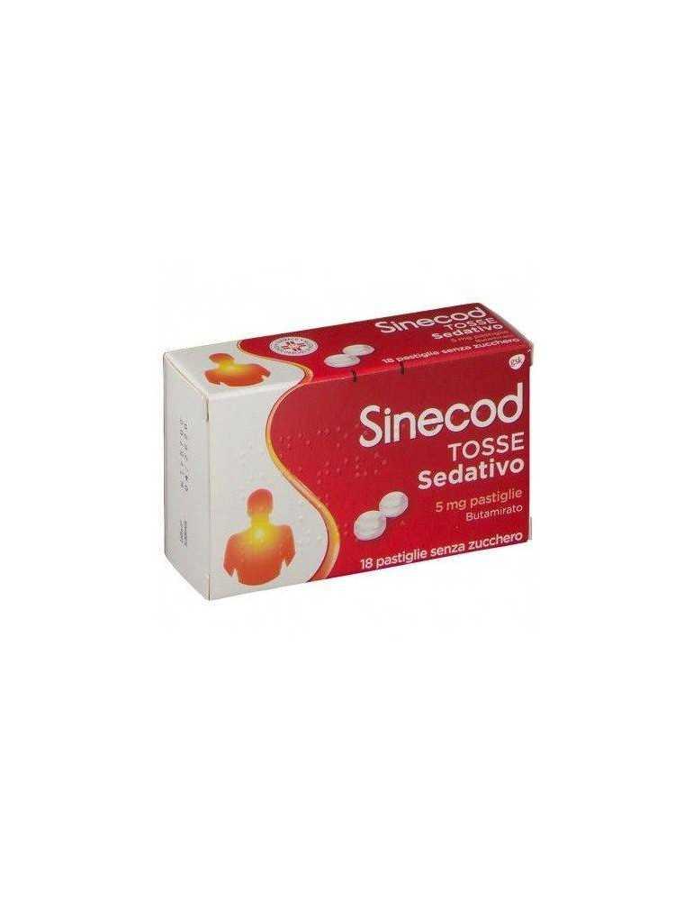 Sinecod Tosse Sedativo 18 Pastiglie 5 mg Gsk