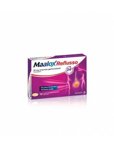 Maalox Reflusso 14 Compresse 20mg 041056021