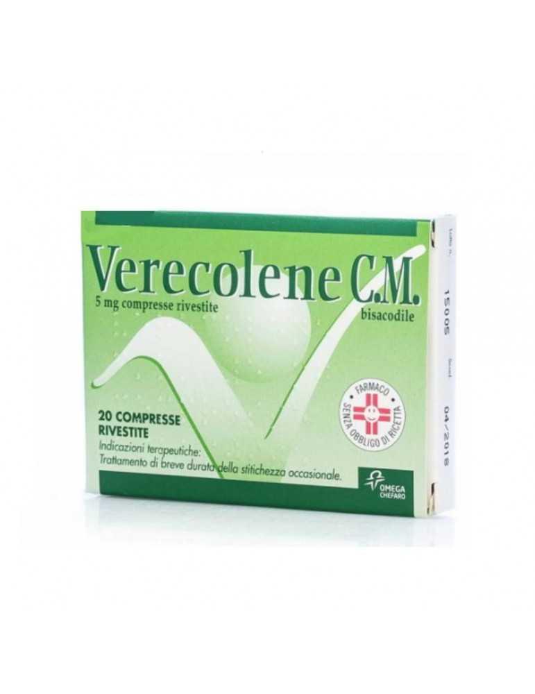 Verecolene CM 20 Compresse Rivestite 5mg 033708013