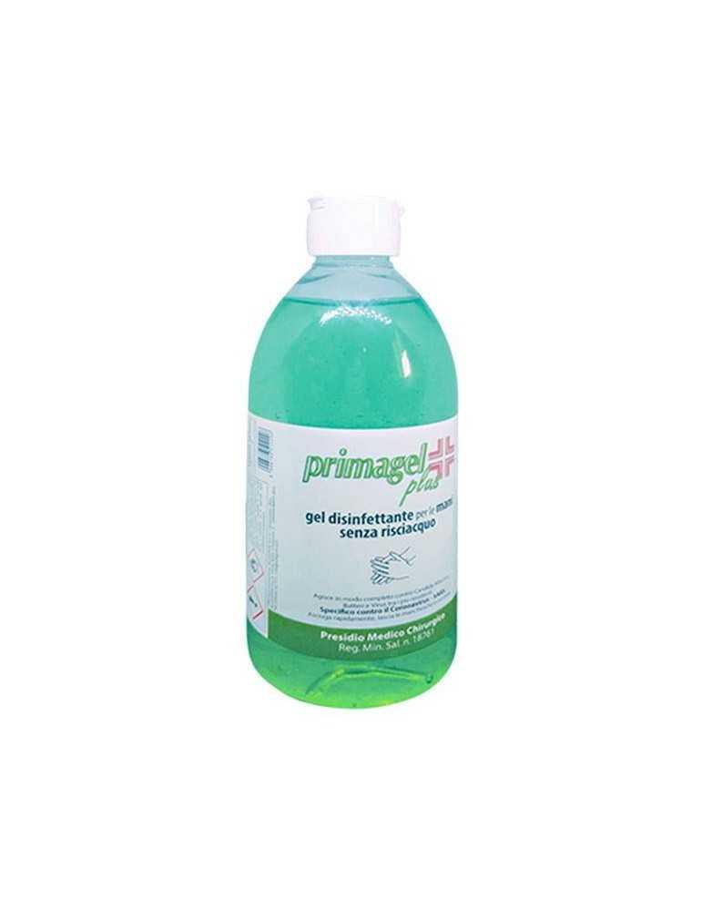 PRIMAGEL PLUS GEL DISINFETTANTE ANTI-BATTERICO MANI A BASE ALCOLICA 500ml 938019003