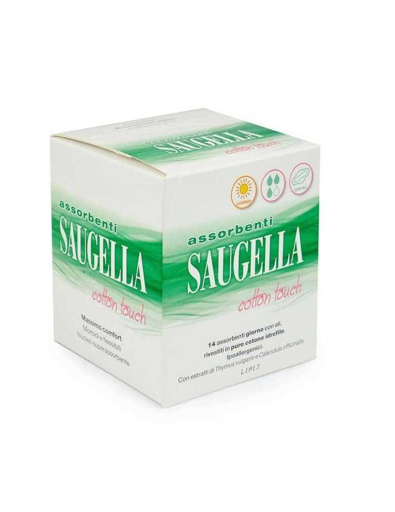 SAUGELLA Assorbenti Giorno Cotton Touch 14 pezzi 930856101