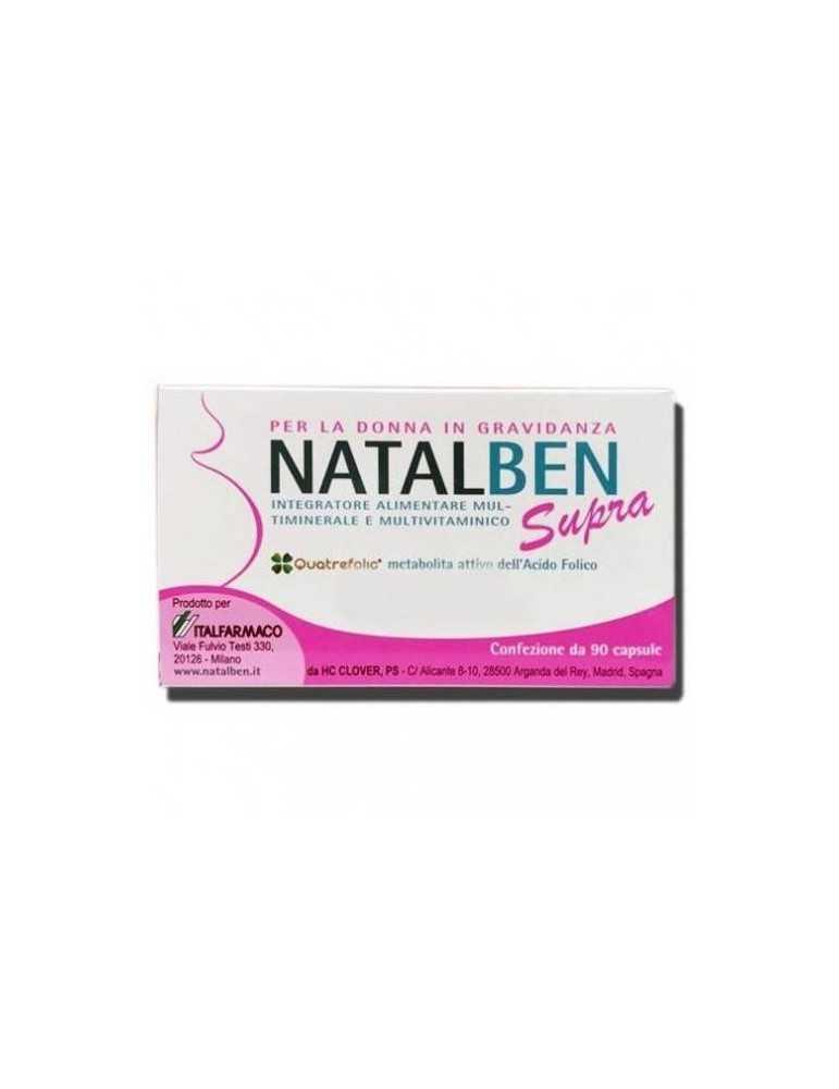 Natalben Supra per la donna in gravidanza 90 capsule molli 971995105