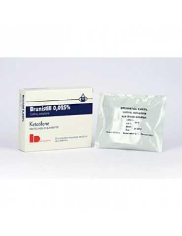 Brunistill congiuntivite collirio 20 flaconcini 037448026