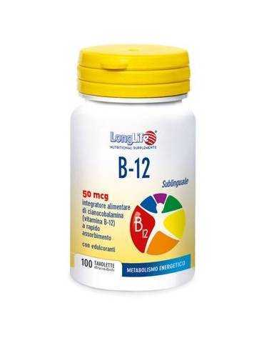 LONGLIFE B12 50MG 100 COMPRESSE 934038858
