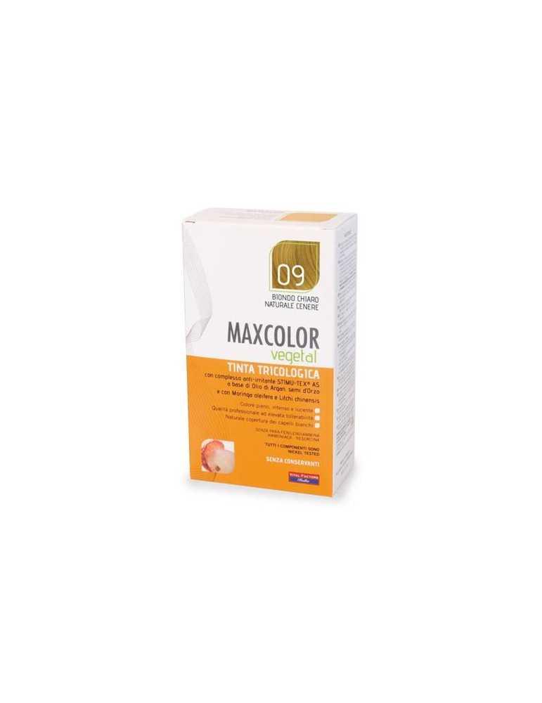MaxColor Vegetal 09 Biondo Chiaro Naturale Cenere 904660279