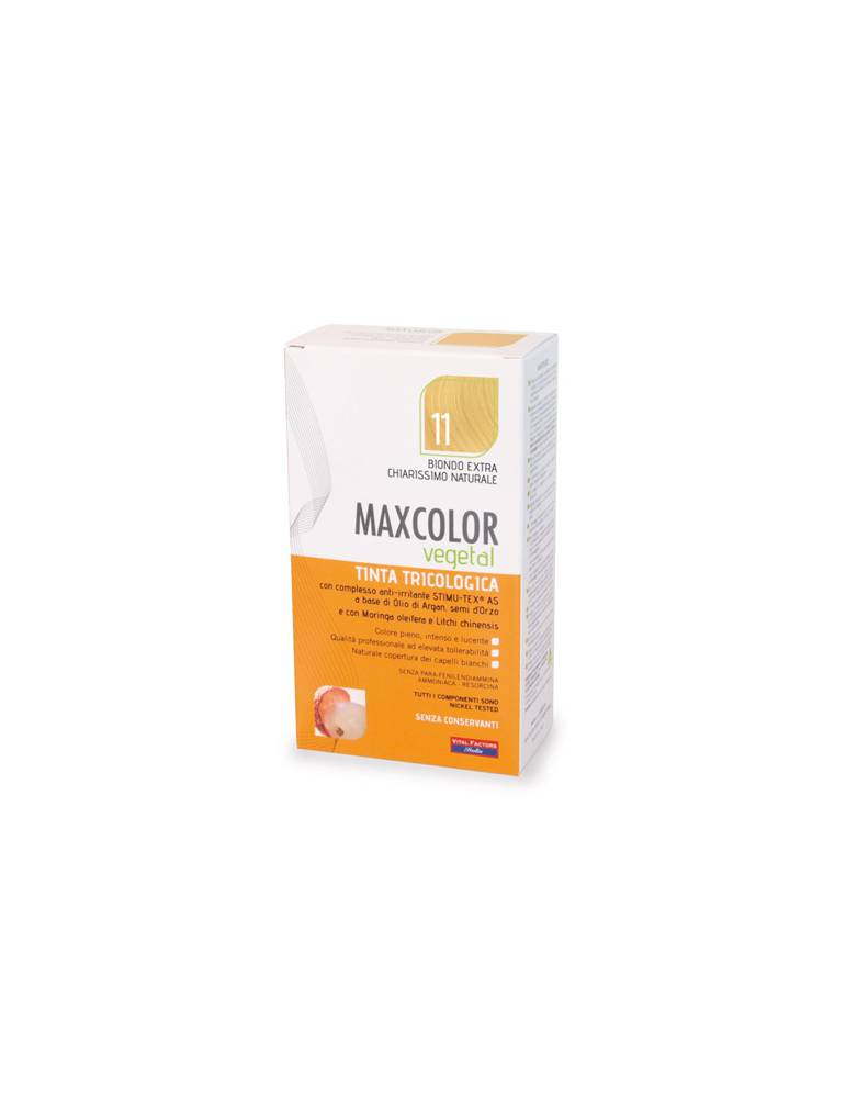 MaxColor Vegetal 11 Biondo Extra Chiaro Naturale 904660293