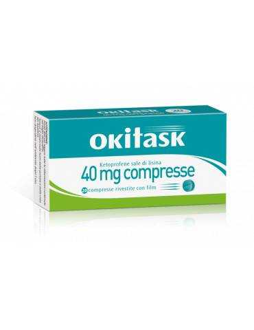Okitask 40mg 20 compresse rivestite DOMPE' FARMACEUTICI SpA 042028047