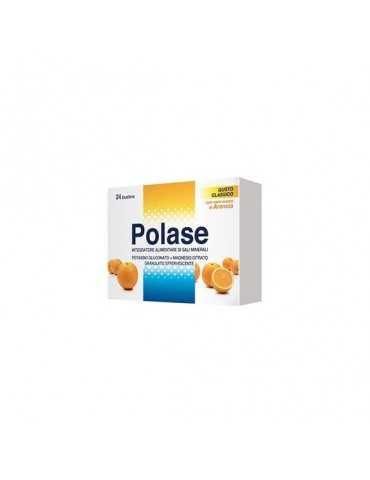 Polase integratore di potassio e magnesio Arancia 24 bustine GLAXOSMITHKLINE C.HEALTH.Srl 930376379 Integratori Salini