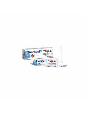 Curaden Healthcare Buccagel Afte Rapid gel protettivo 10ml 927123911