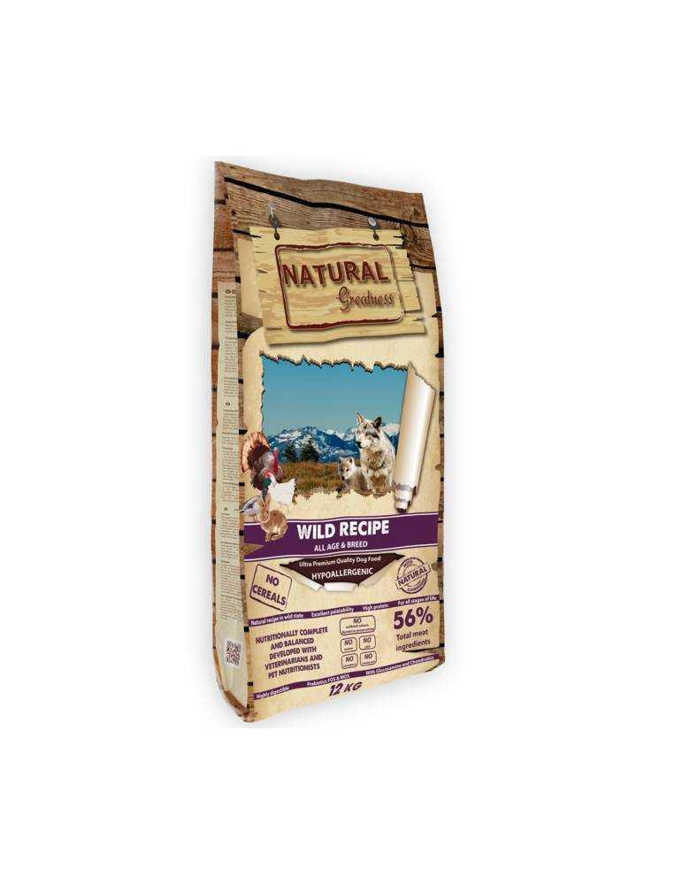 NATURAL WILD RECIPE JUNIOR 2KG 907900498