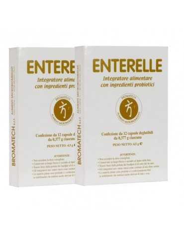 Enterelle 24 Capsule confezione doppia BROMATECH Srl 970977854 Fermenti lattici