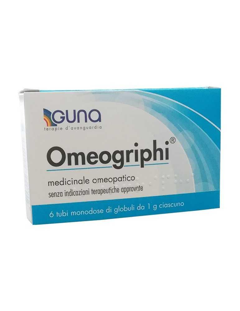 Omeogriphi medicinale omeopatico 6 tubi monodose di globuli 800883288