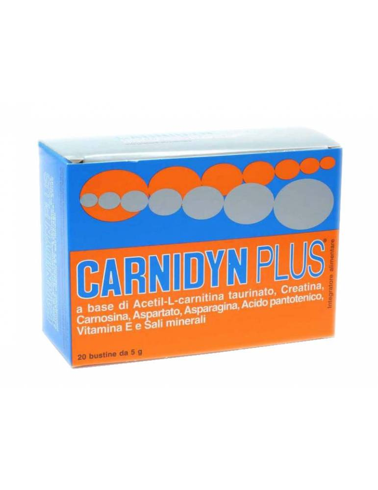 Carnidyn Plus 20 Bustine Integratore 930525771
