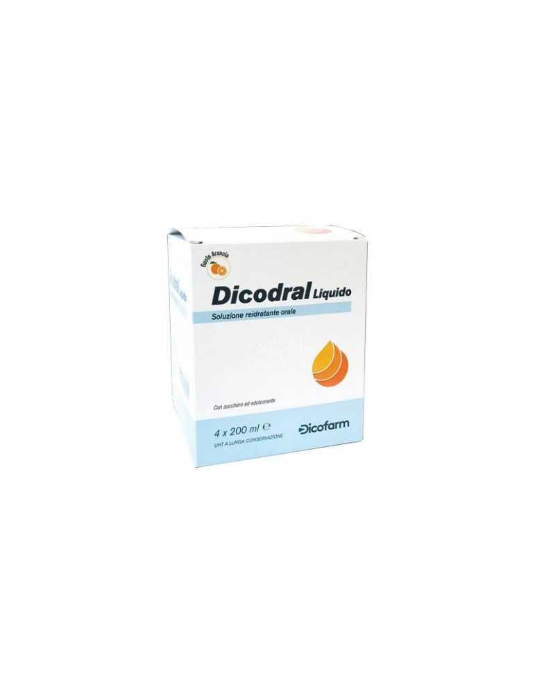 Dicodral Liquido Soluzione Reidratante Orale 4 X 200 Ml 942138886