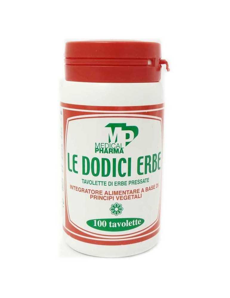 Le Dodici Erbe 100 Tavolette Integratore per Digestione 903024356