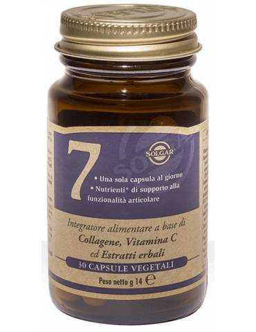 Solgar 7 Integratore Di Collagene E Vitamina C 30 Capsule 933513020