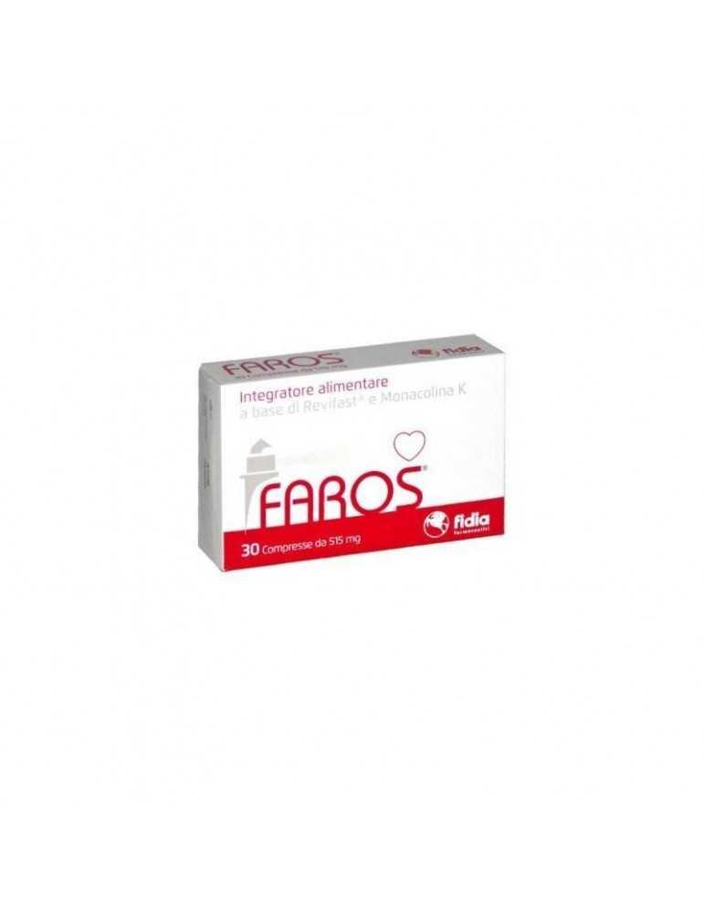 Faros 30 Compresse Integratore per Colesterolo 972508232