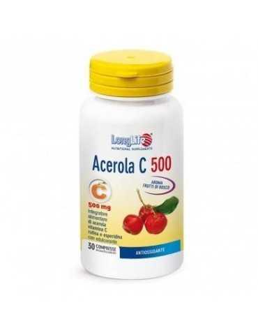Longlife Acerola C500 30 Tavolette 900176203