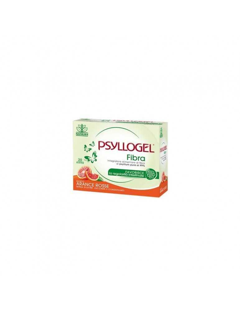 Psyllogel Fibra Arance Rosse 20 Bustine Integratore per Regolarità Intestinale 902549652