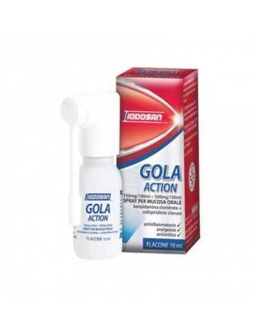 Iodosan Gola Action Spray Mucosa Soluzione Orale 0,15% + 0,5% 033501026