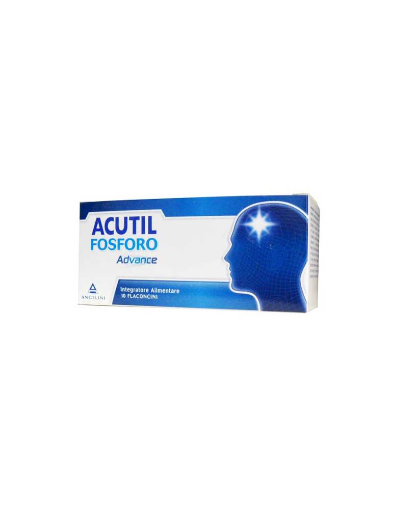 Acutil Fosforo Advance 10 flaconcini 930605288