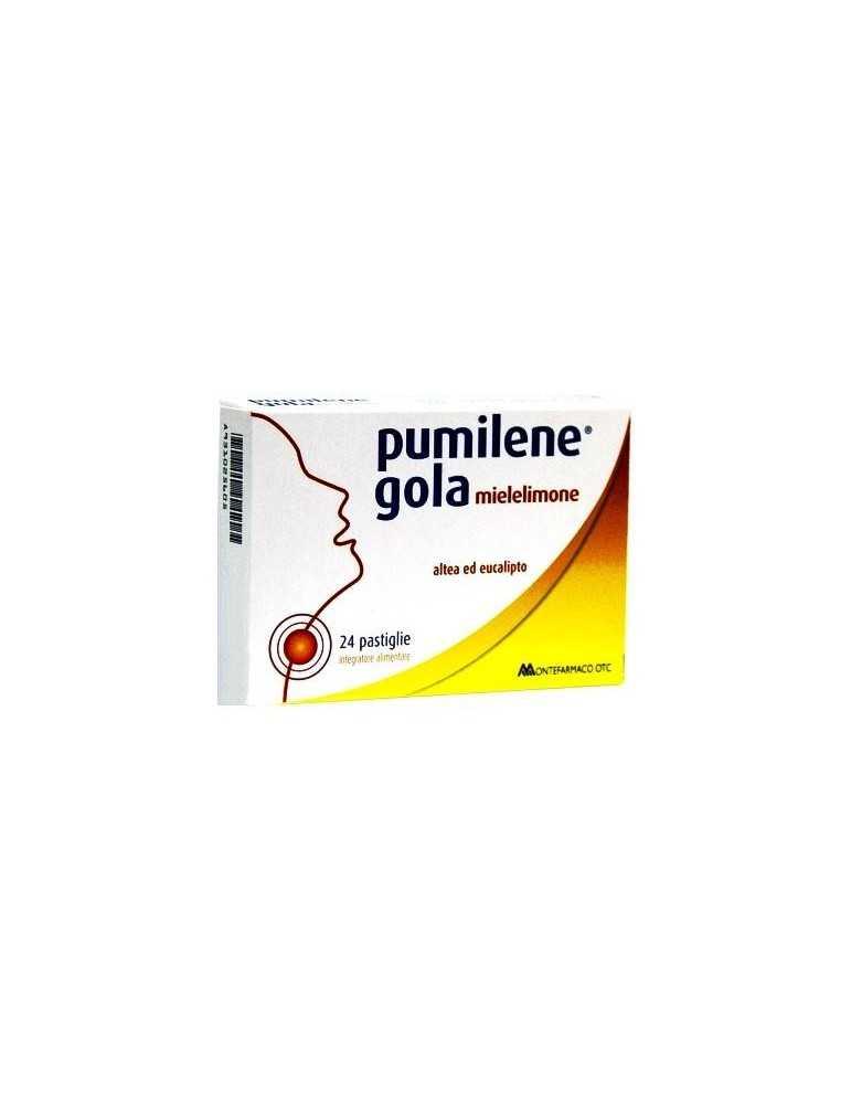 Pumilene Gola Miele Limone 24 Pastiglie 931025605