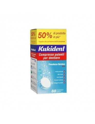 Kukident Cleanser Fresch 88 Compresse Pulizia Protesi Dentarie 913744722