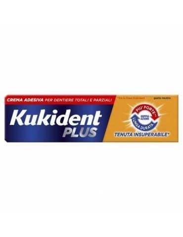 Kukident Plus Doppia Azione crema adesiva per protesi dentarie 40 g 922199827