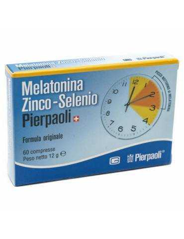 Melatonina Zinco Selenio Pierpaoli 60 Compresse 970283952