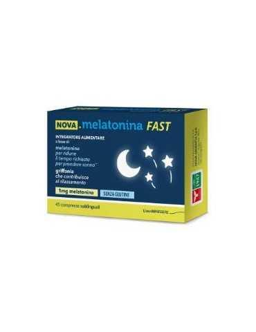 Nova Melatonina Fast da 45 compresse 935738144