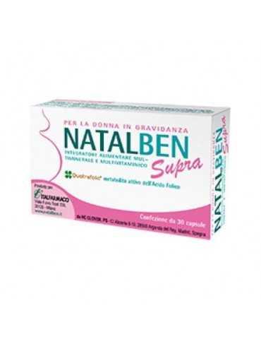 Natalben Supra per la donna in gravidanza 30 capsule molli 971995093