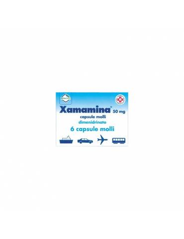 Xamamina Antinausea 6 Capsule Molli 50 mg 002955060