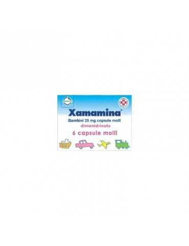 Xamamina Bambini 6 Capsule Molli 25mg 002955108