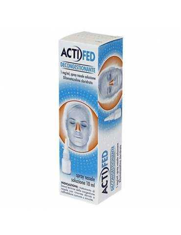 Actifed Spray Nasale Decongestionante 10ml 040282016