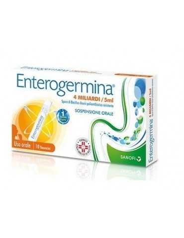 Enterogermina 4 miliardi di spore attive 10fl 5ml SANOFI SpA013046077 SANOFI SpA