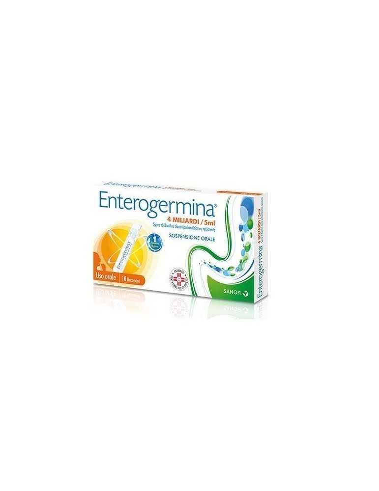 Enterogermina 4 miliardi di spore attive 10fl 5ml Sanofi Aventis