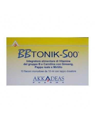 BBTONIK 500 10 FLACONCINI 10ml 905904292