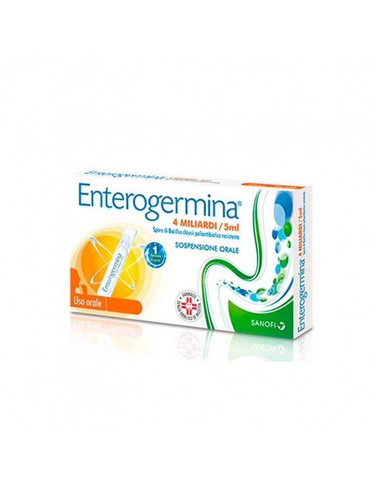 Enterogermina 4 miliardi/5ml 20 flaconcini Sanofi Aventis013046089 Sanofi Aventis