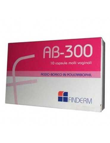 AB300 CAPSULE VAGINALI 10Pz 901251936