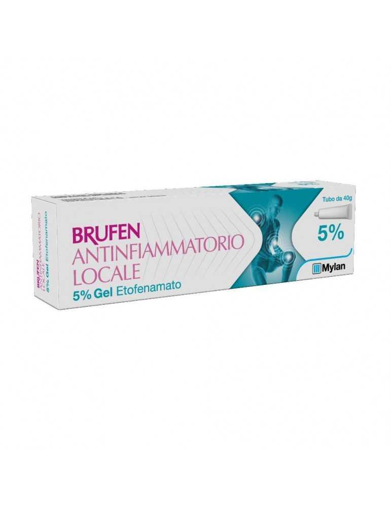 Brufen antinfiammatorio locale gel 40g 5% 024180010