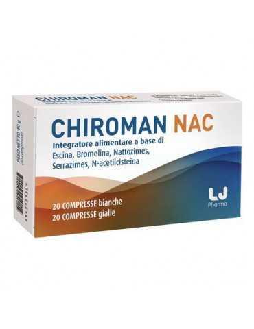 CHIROMAN NAC 20 Cpr +20 CAPSULE 933800043
