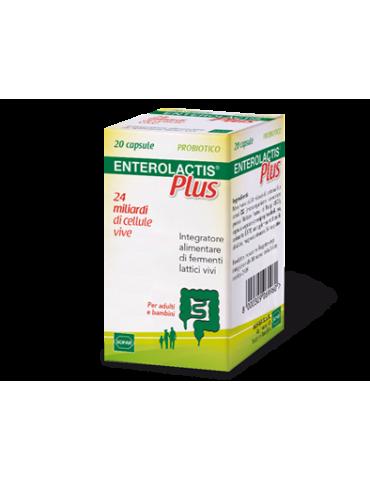 Enterolactis Plus 24 miliardi di fermenti lattici vivi 20cps 902557824