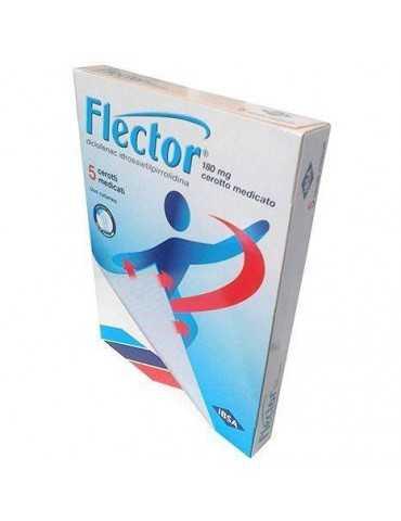 FLECTOR 5 CEROTTI MEDICATI 180mg 027757032