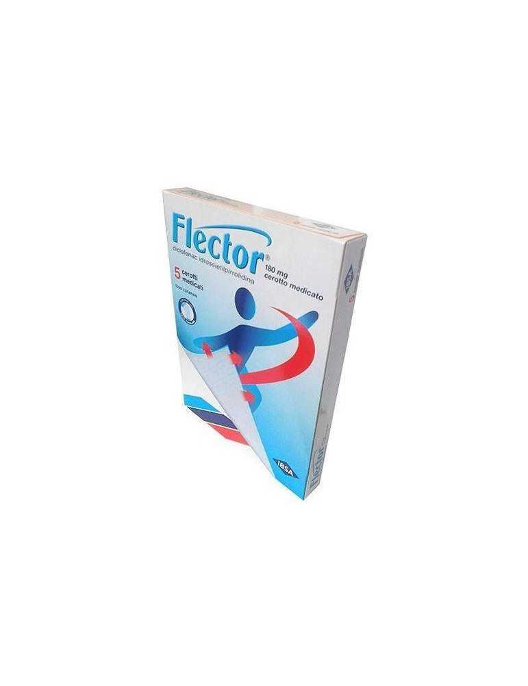 FLECTOR 5 CEROTTI MEDICATI 180 MG 027757032
