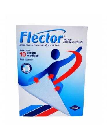 FLECTOR 10 CEROTTI MEDICATI 180mg 027757044