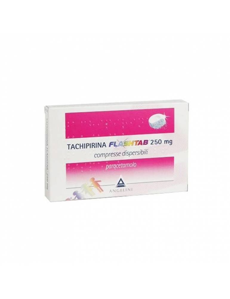 Tachipirina Flashtab 250mg 12 compresse dispersibili 034329122